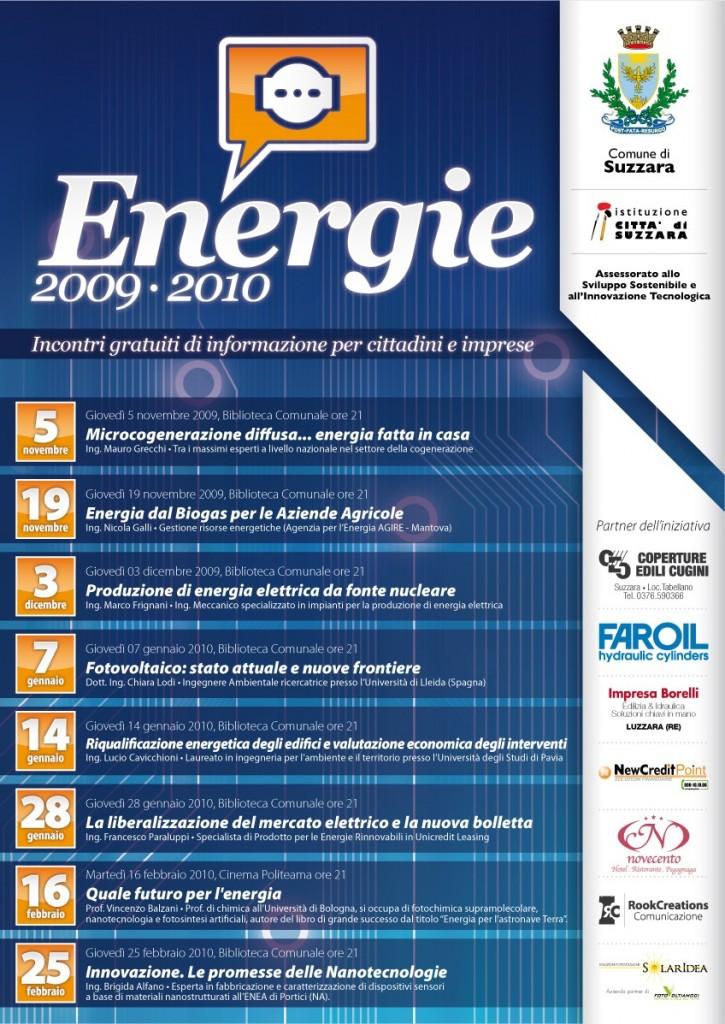 Suzzara Energie Calendario 2009-2010