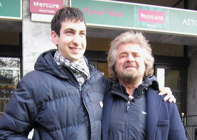 Il nostro Consigliere Davide Zanichelli con Beppe