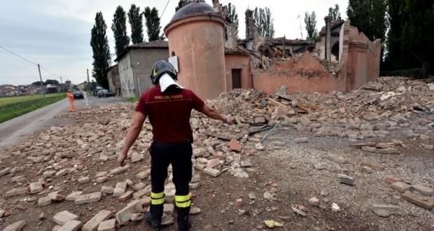 vigile terremoto