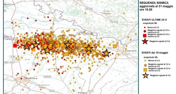 eventi sismici