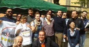Nella foto di qualche settimana fa, Guastalla 5 Stelle in trasferta a Reggio Emilia